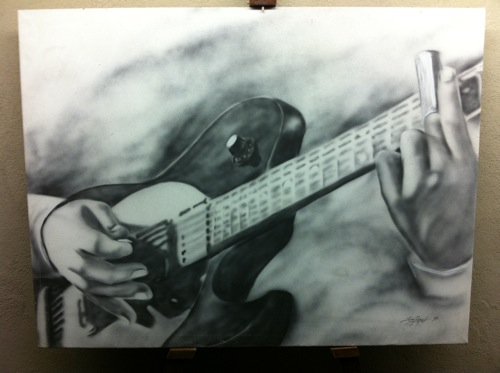 Leroy Roper Original Art (Guitar)