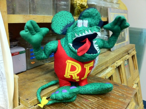 Rat Fink Plush Toy
