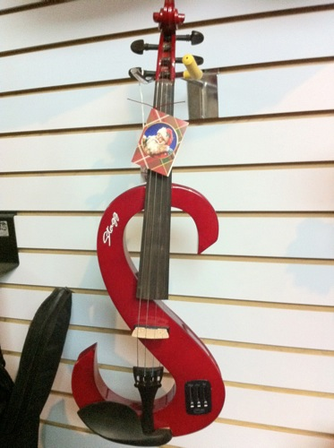 New electric, super star violin